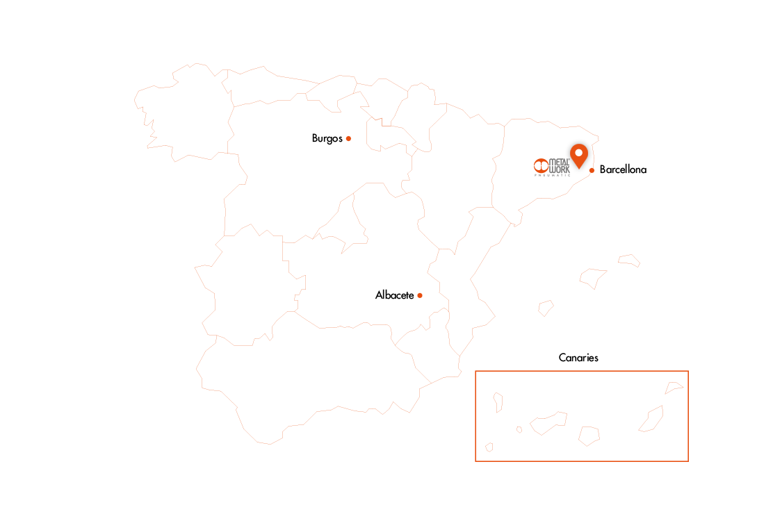 Spagna Map